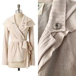 Ivory Sparrow Konnichiwa Sweater Coat Cardigan XS